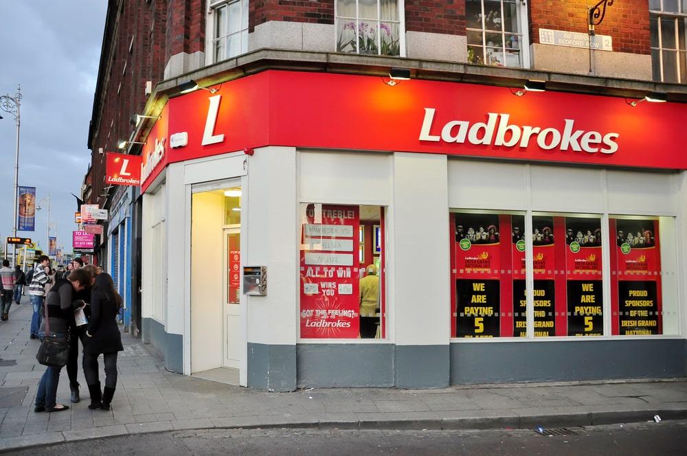 Ladbrokes retail betting shop